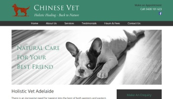 Holistic Vet Adelaide Website Design