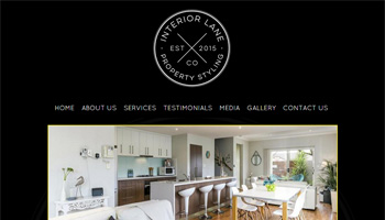 interiorlaneco website design